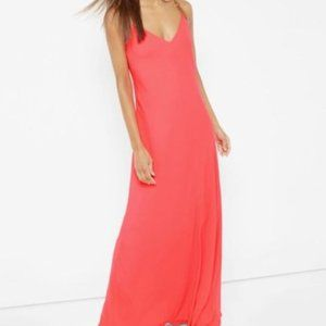 Ted Baker dress Desile Cross Back Strap Maxi sz 00
